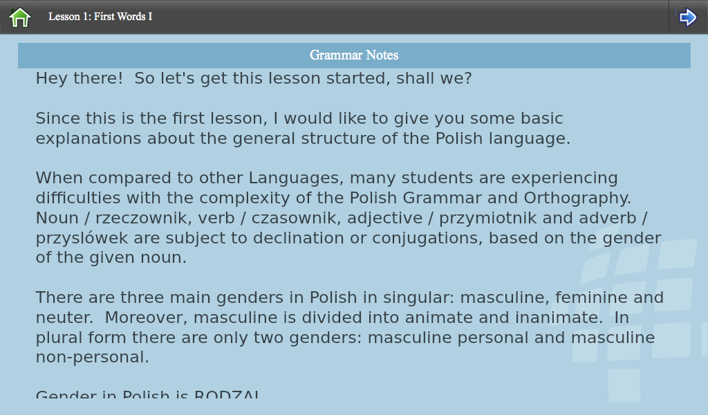 L-Lingo Learn Polish- screenshot