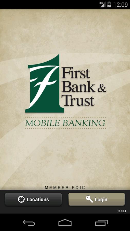 FB&T Mobile Banking - screenshot