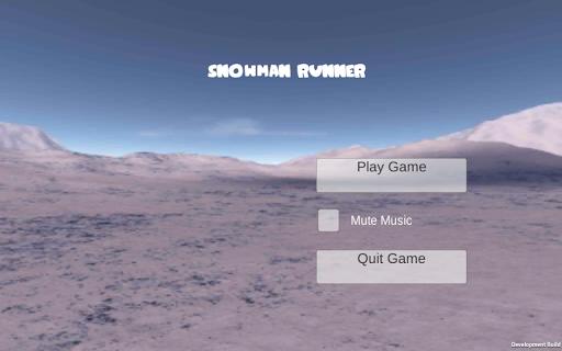 Snowman Runner