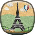 Paper Paris Live Wallpaper icon