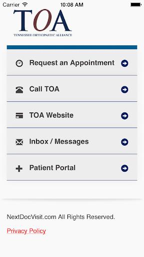 TOA - Tennessee Orthopaedic