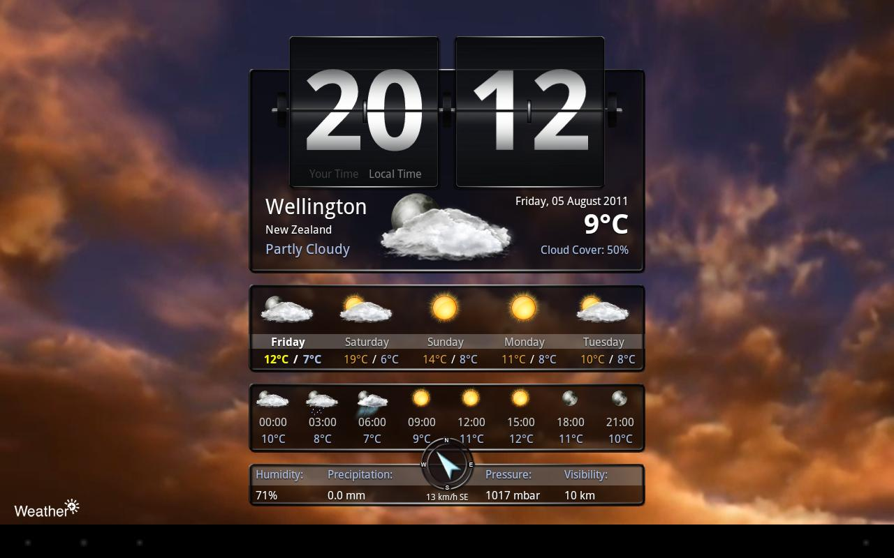 Weather+ - screenshot