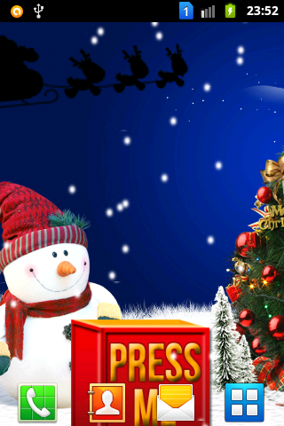 New Year Snowfall LiveWalpaper