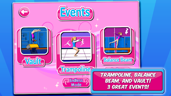 Gymnastics Events - screenshot thumbnail