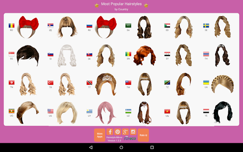 Hairstyle Mirror: try on live- screenshot thumbnail