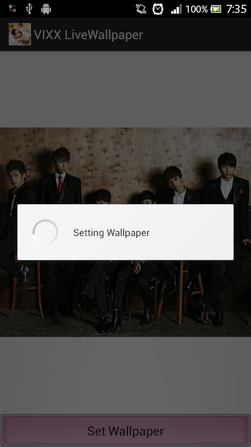 VIXX Live Wallpaper - screenshot