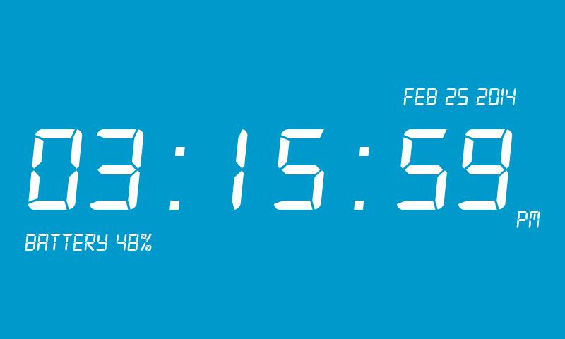 Готовы ли вы к настроенной цифровые часы с «прогнозом всемирной службы погоды