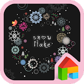 Snow Flake Dodol Theme