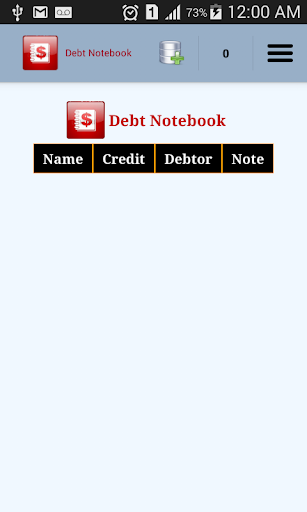 Debt Notebook