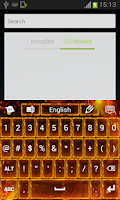 Screenshot of Flame Keyboard