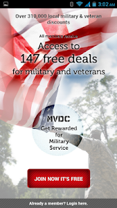 MVDC Military & Vet Discounts screenshot 0
