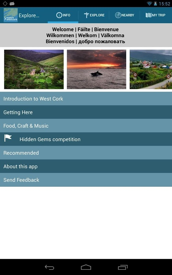Explore West Cork- screenshot