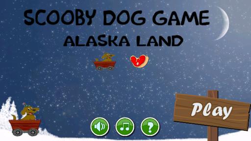 Scooby Dog On Alaska Land
