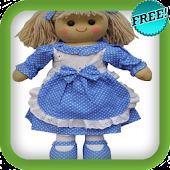 Una Muñeca Vestida de Azul