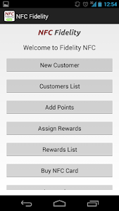 NFC Fidelity screenshot 0
