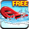 3D Beer Chase Boat Race FREE icon