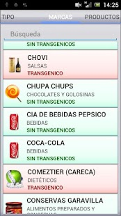 Alimentos Transgenicos GMO- screenshot thumbnail