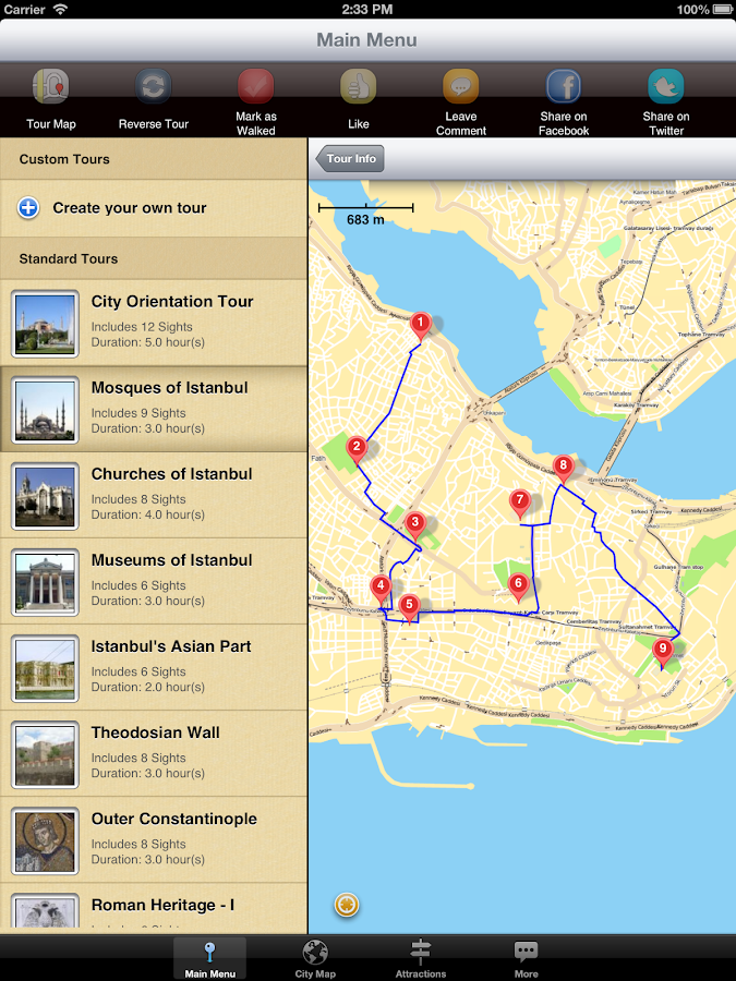 Guided Walking Tours Of Istanbul