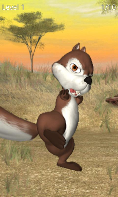 Talking James Squirrel - screenshot