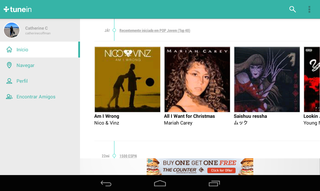 TuneIn Radio- screenshot
