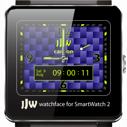 JJW Carbon Watchface 3 for SW2 個人化 LOGO-玩APPs