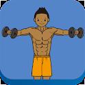 집에서남자어깨만들기(남자어깨운동) icon