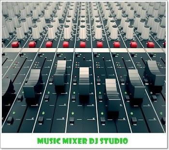音樂混音器 DJ 工作室