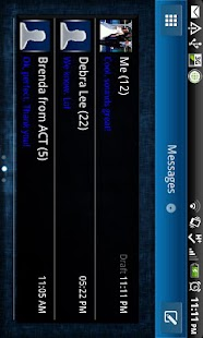 GO SMS THEME|Lucid - screenshot thumbnail