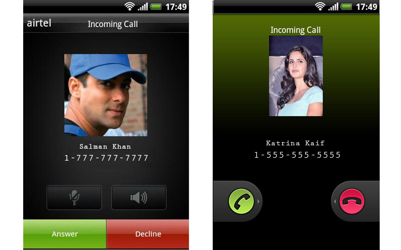 Fake Call,SMS,Balance,Battery - screenshot