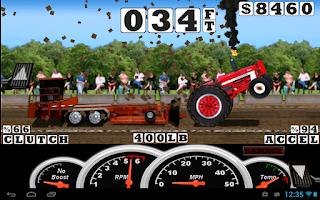 Screenshot of Tractor Pull