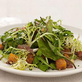 Butternut Squash Salad with Hazelnuts.