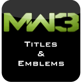 MW3 Titles and Emblems