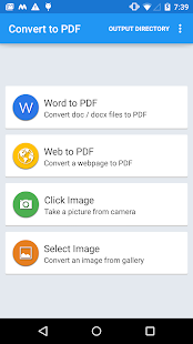 PDF Converter Doc, Web & Image - náhled