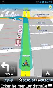 MapFactor: GPS Navigation - screenshot thumbnail