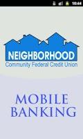 Screenshot of Neighborhood CFCU Mobile