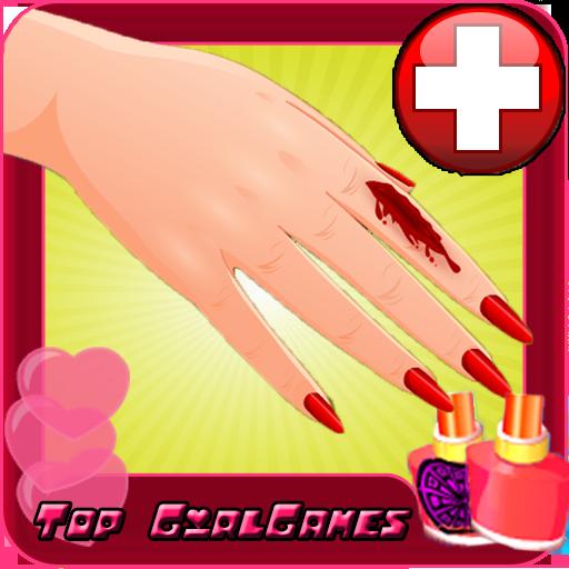 부상 후 매니큐어 - 소녀 模擬 App LOGO-硬是要APP