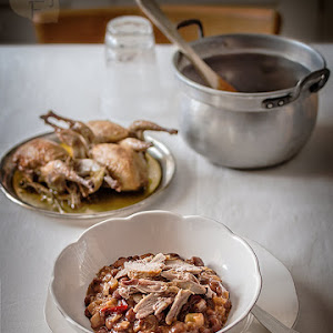 Kidney Beans with Quail
