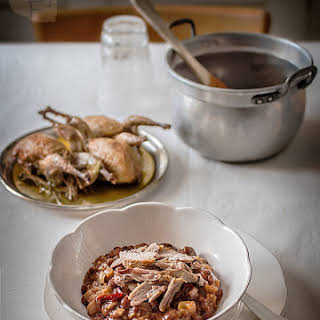 Kidney Beans with Quail.