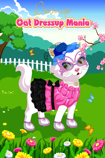 Cat DressUp Mania Free by GFG