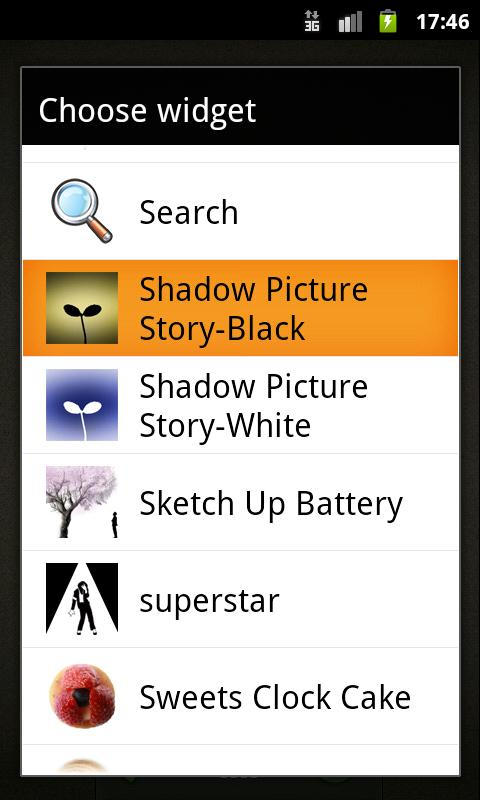 Shadow picture story- screenshot