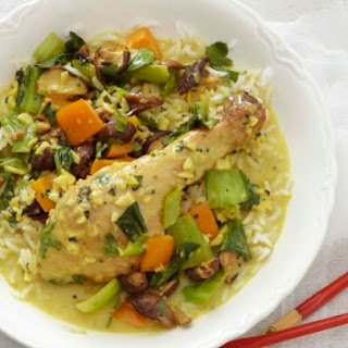 Poulet's One-Pot Coconut Chicken over Jasmine Rice