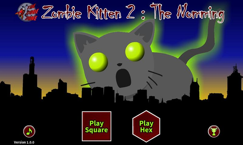 Zombie Kitten 2 : The Nomming- screenshot