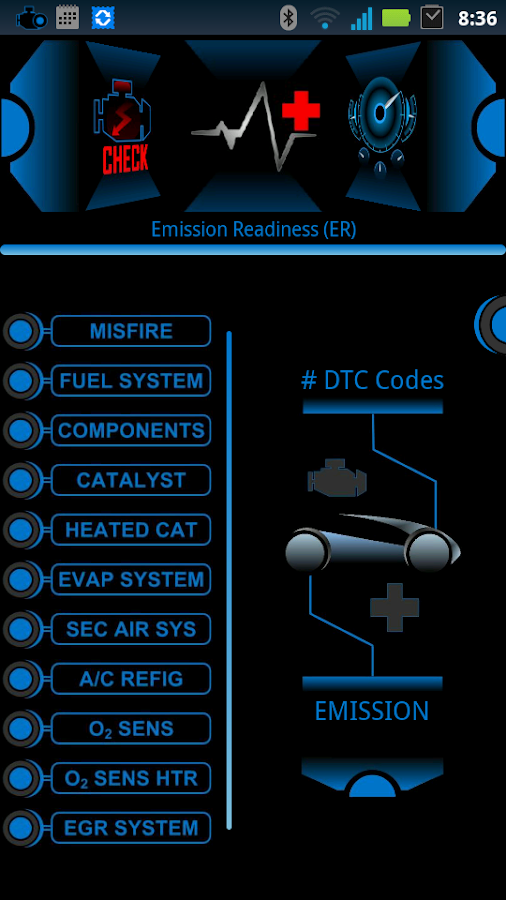 eCar PRO (OBD2 Car Diagnostic)- screenshot