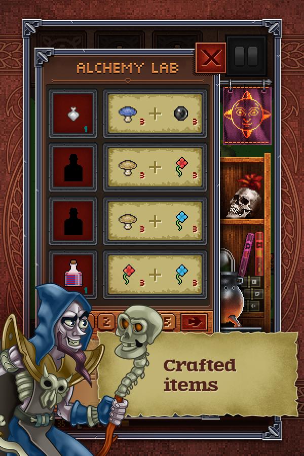 Dragon's dungeon - screenshot