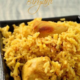 Indian Style Chicken Briyani.