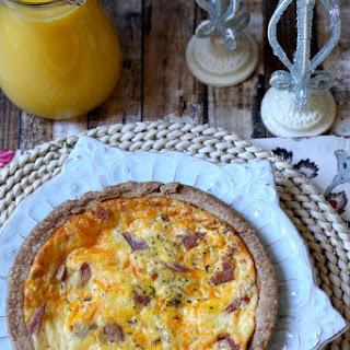 Breakfast Quiche.