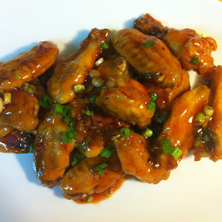 Spicy Maple Glazed Chicken Wings