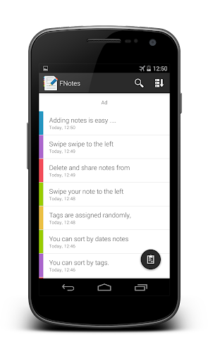 FNotes - fast notes notepad