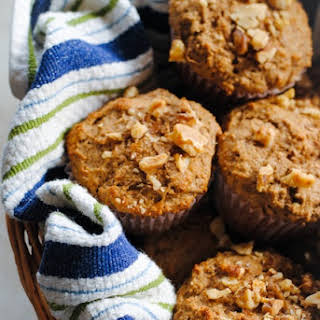 Maple-Pecan Bran Muffins.