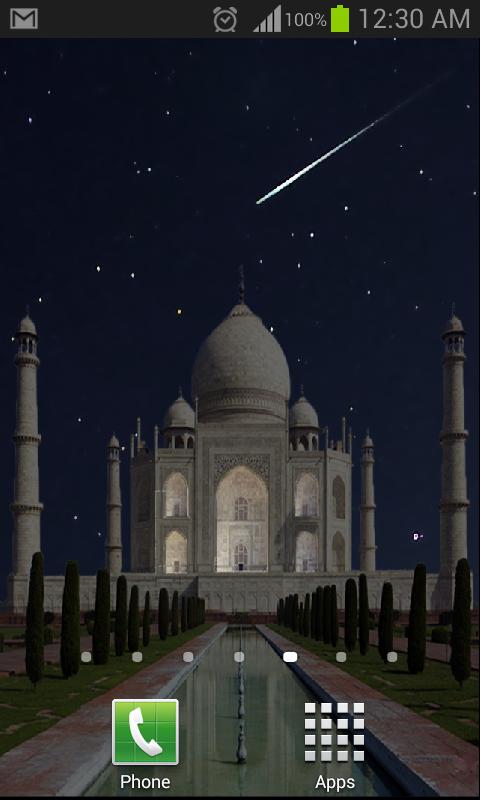 taj mahal live wallpaper beta android apps on google play